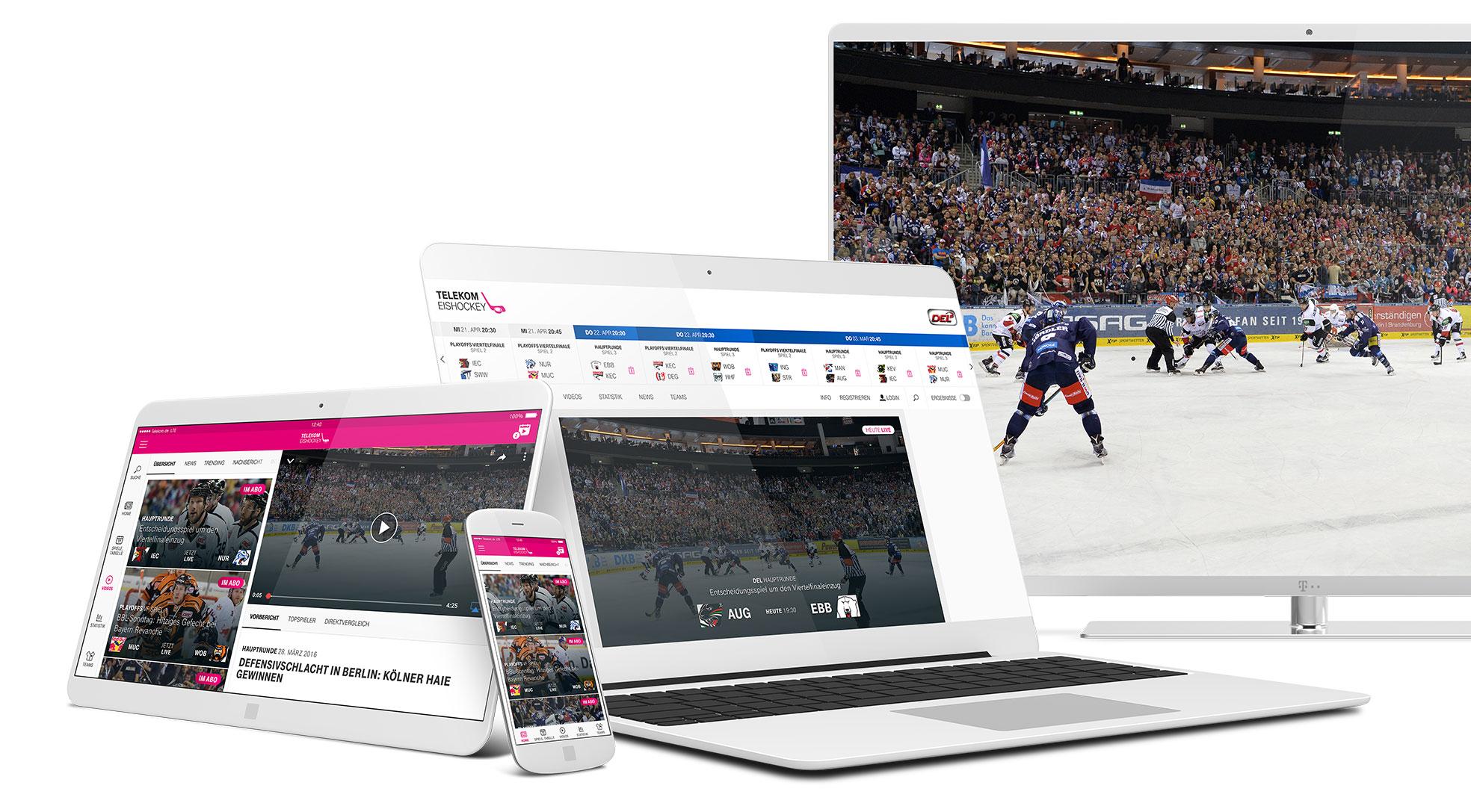 fizielle Webseite der Deutschen Eishockey Liga